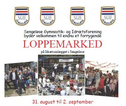 SGIF Loppemarked 2018