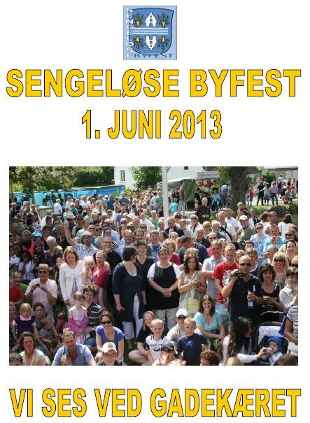 Sengeløse Byfest 2013 1. juni