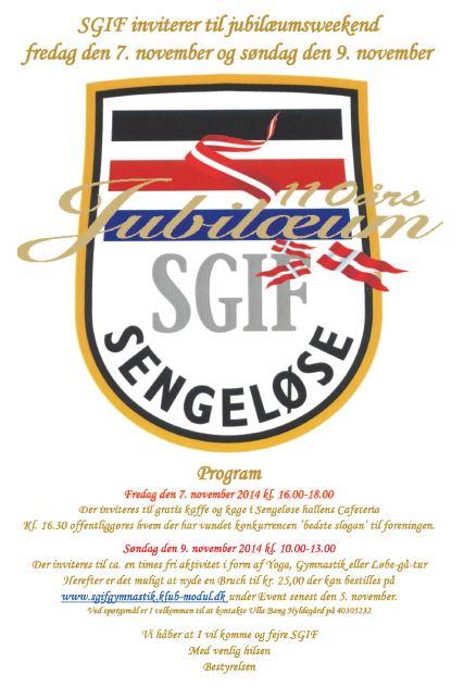 SGIF 100 år i Sengeløse
